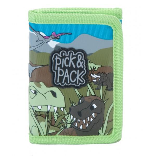 Plånbok för barn, Dino Army från Pick & Pack