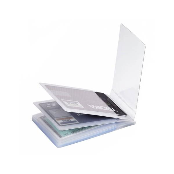 Extra plastfickor till TROIKA kreditkortsplånböcker.