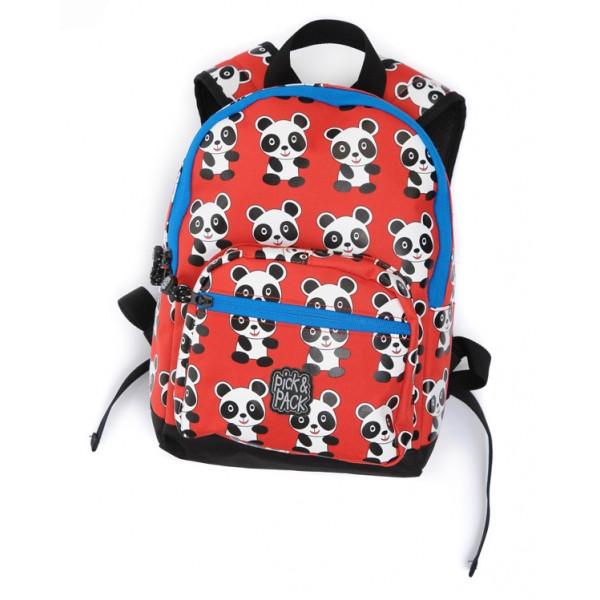 Ryggsäck för barn, Panda röd.