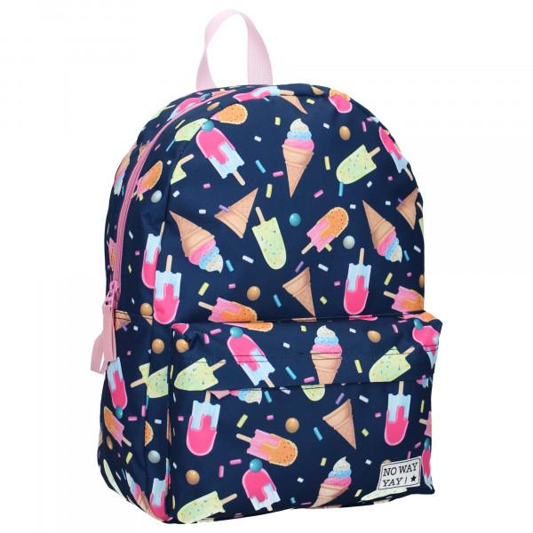 Glassig ryggsäck för barn, Milky Kiss Icecream. Skolväska och fritidsväska!