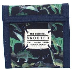 Plånbok för barn med dinosaurier.