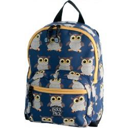 Ryggsäck för barn Ugglor Blå, Från Pick & Pack